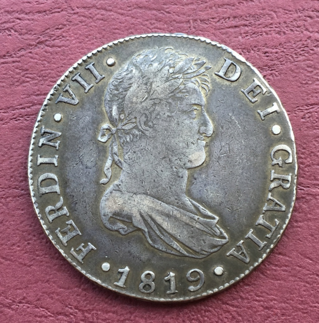 8 Reales 1819. Fernando VII. Guatemala  746fca10