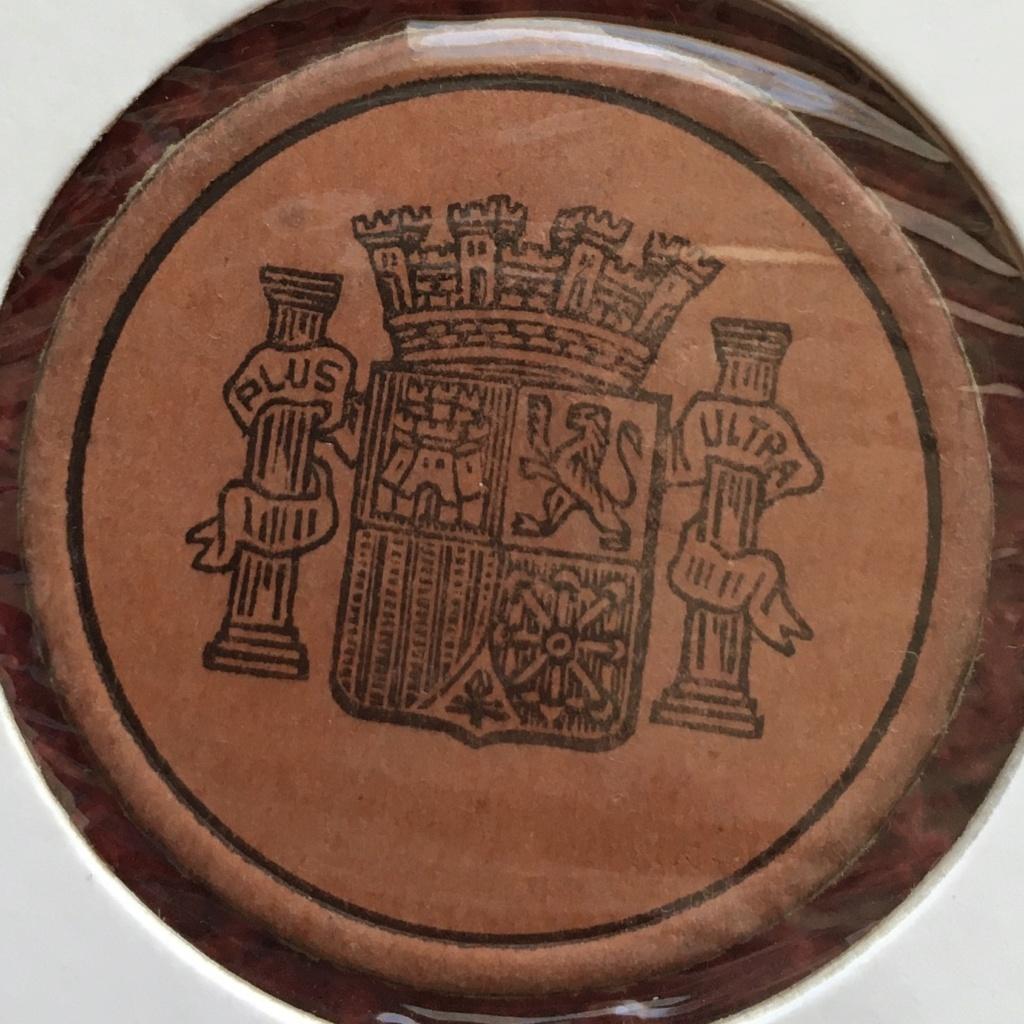 15 céntimos. Cartón Moneda II Republica 919a6610