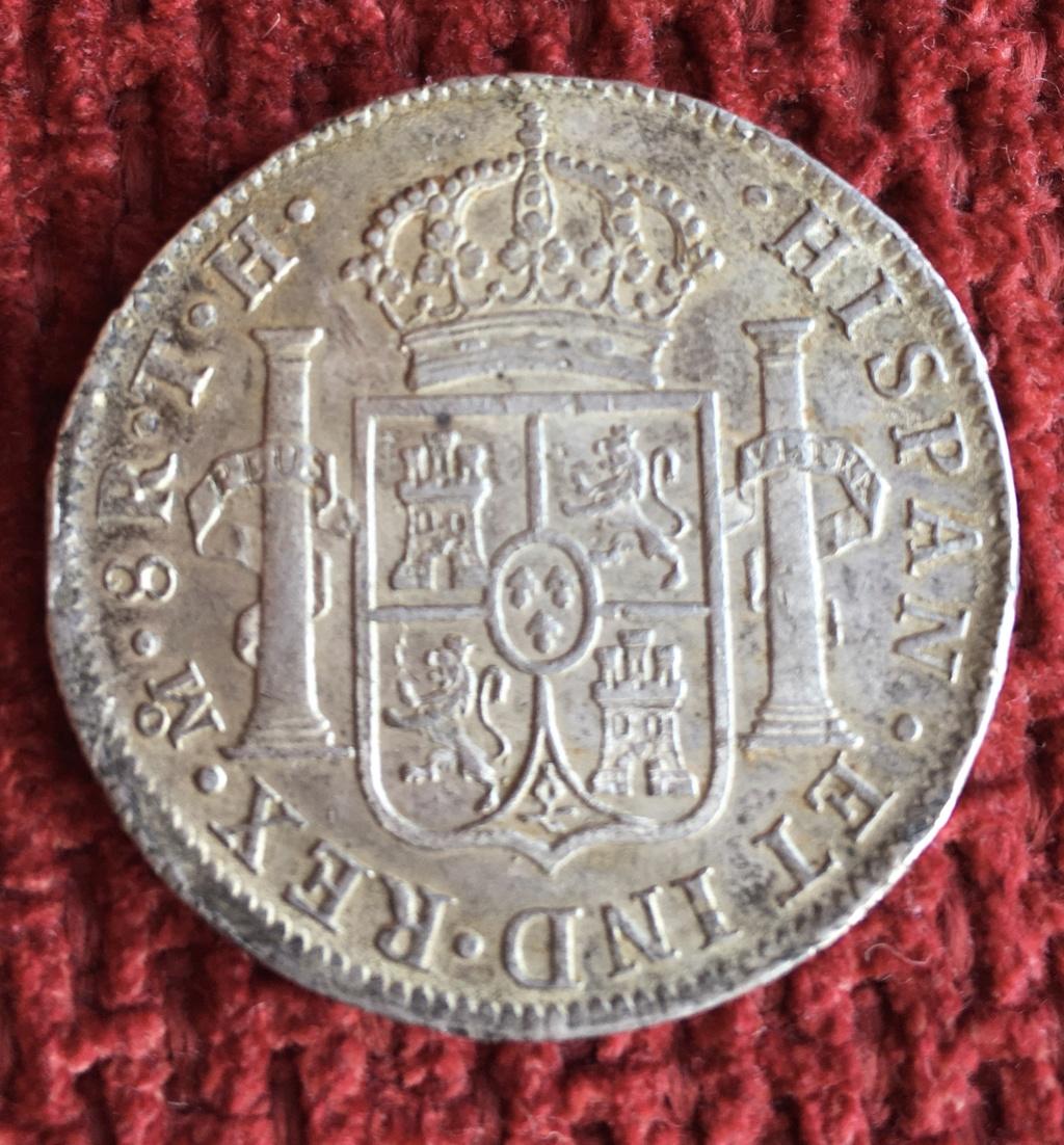 8 Reales 1804. Carlos IV. México. Ayuda para graduar conservación. E294ce10