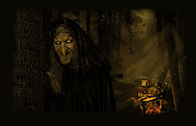 О Ведьмах, Упырях, Оборотнях, Вампирах Восточной и Западной Европы. О Бабе – Яге. C_110