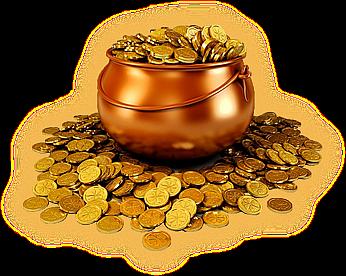 Старый Новый год. Ритуал с монетами. Monety10