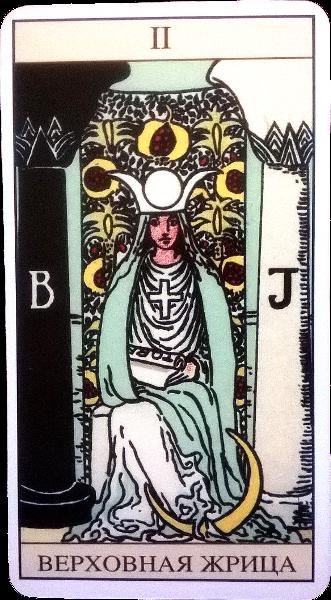 Ⅲ. Верховная Жрица (Монахиня, Папесса). Naau_a10