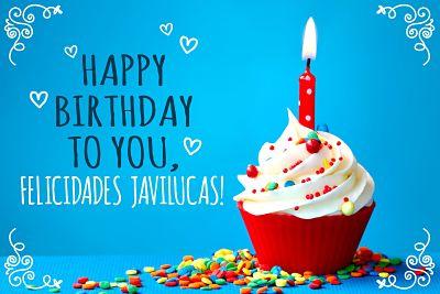 Felicidades Javilucas  0ac10610