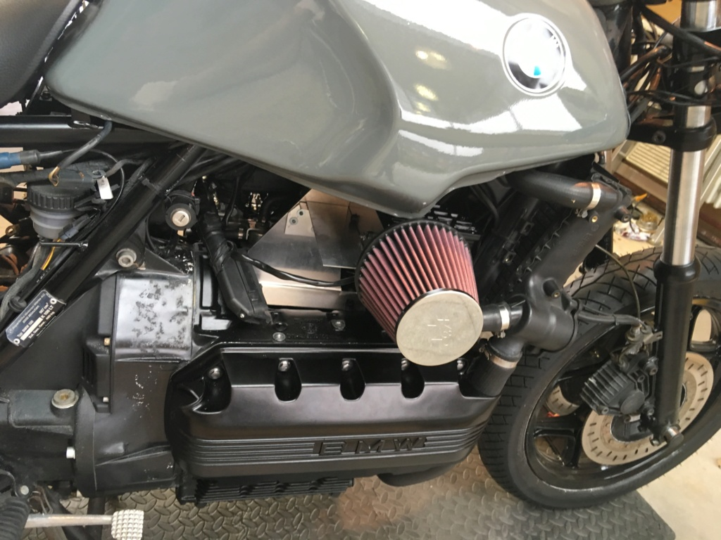 BMW K100LT ABS Cafe Racer Conversion  - Page 2 Img_2326