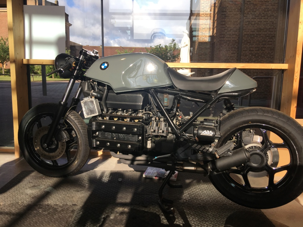 BMW K100LT ABS Cafe Racer Conversion  - Page 2 Img_3113