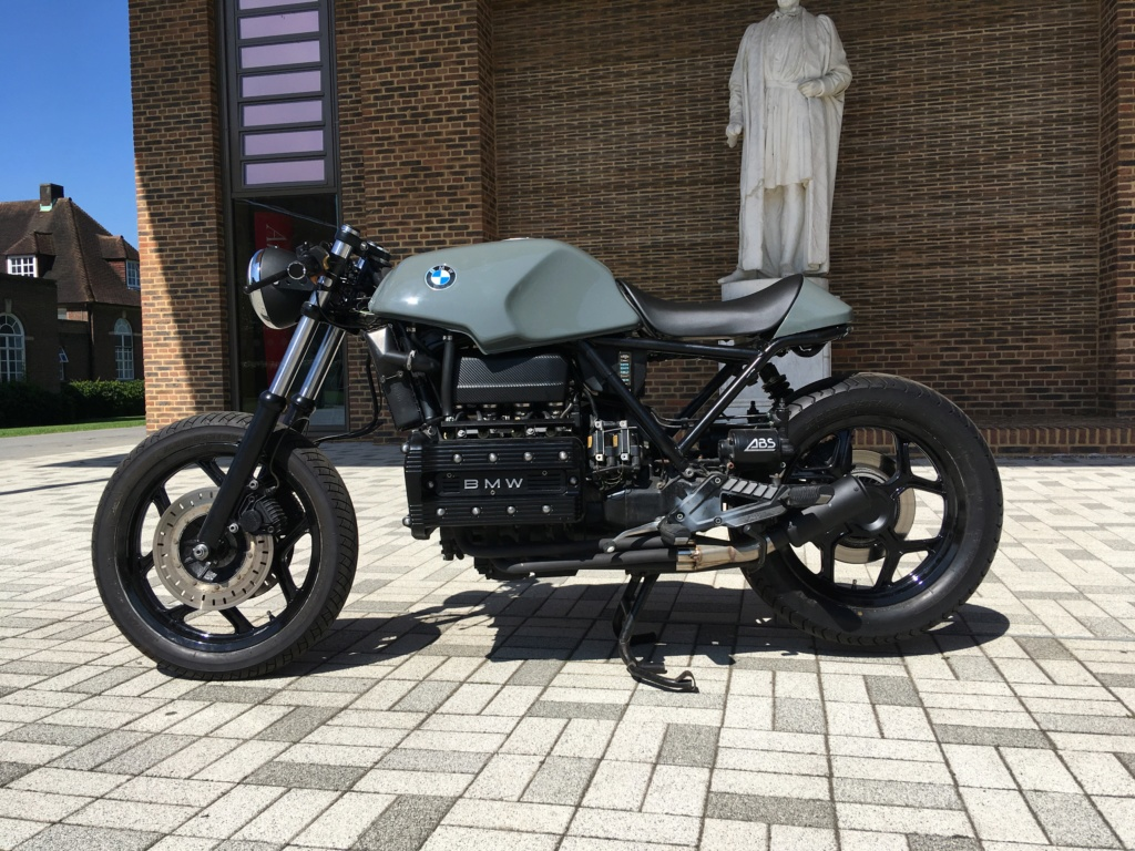 BMW K100LT ABS Cafe Racer Conversion  - Page 2 Img_4217