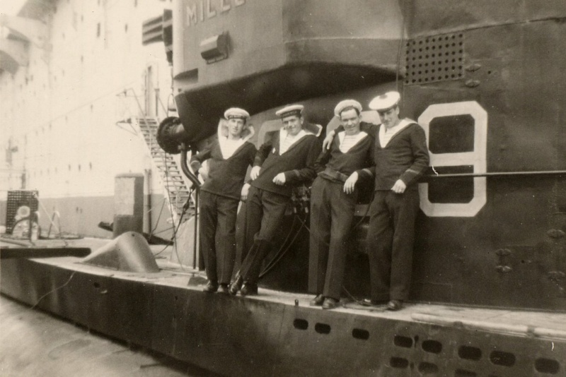 Sous-marin S 609 Millé  1958_110