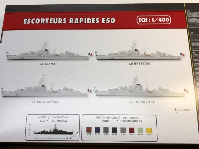 Escorteurs Rapides E50 1/400ème réf 81093 Bozyte13