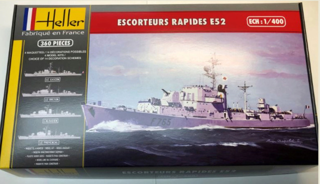 Escorteur Rapide E52 1/400ème réf 81094 Bozyte14