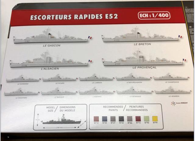 Escorteur Rapide E52 1/400ème réf 81094 Bozyte15