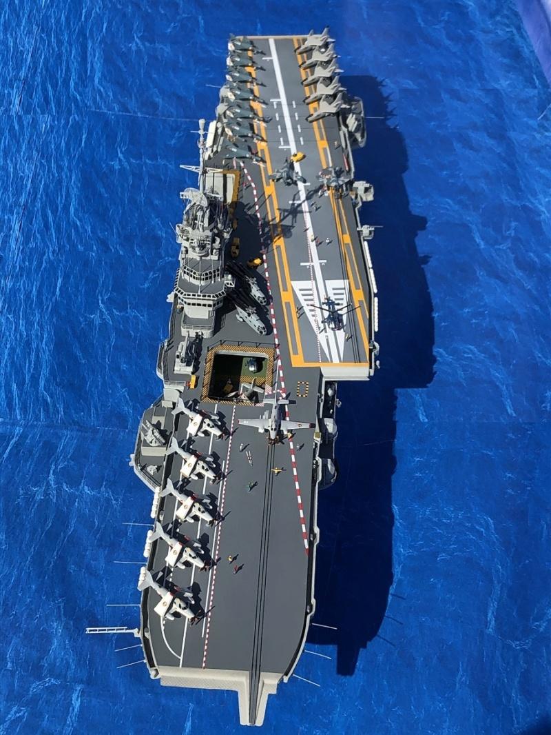 Porte-avions CLEMENCEAU - 1/400ème base Heller + scratch + PE Clemen29
