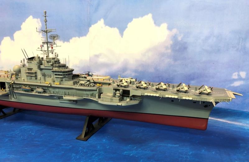 Porte-avions CLEMENCEAU - 1/400ème base Heller + scratch + PE Clemen51