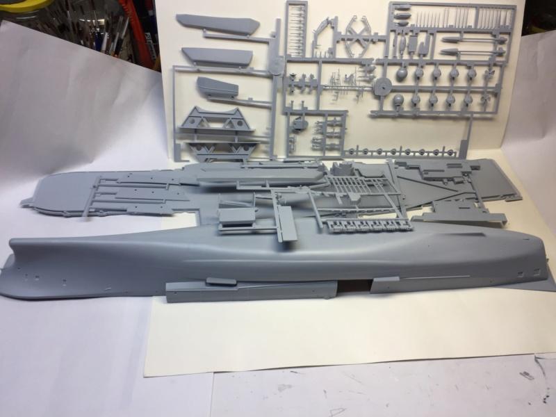 CLEMENCEAU 1987 Mission Prométhée 1/400 Heller + L'Arsenal + Scratch Img_1513
