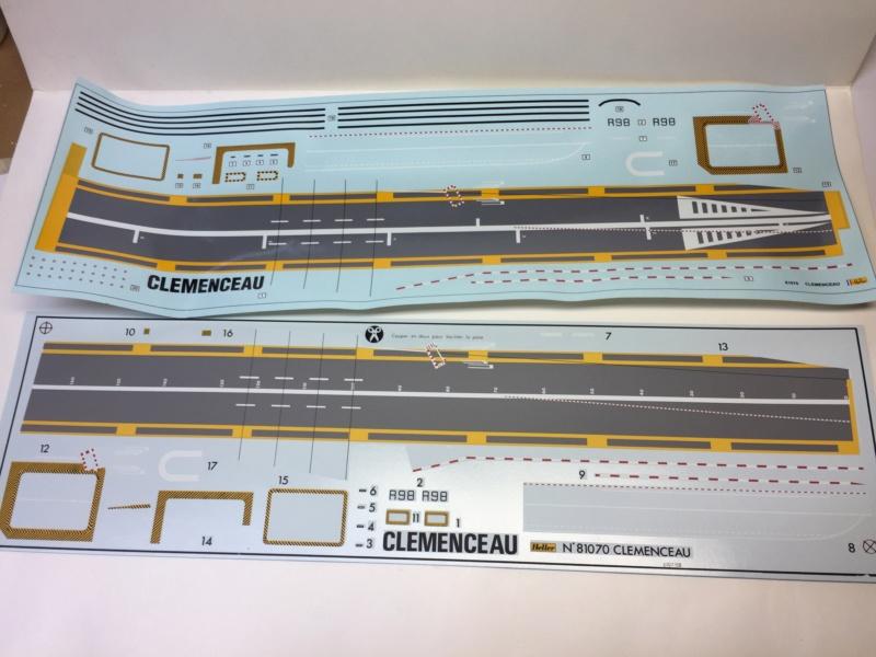 CLEMENCEAU 1987 Mission Prométhée 1/400 Heller + L'Arsenal + Scratch Img_1514