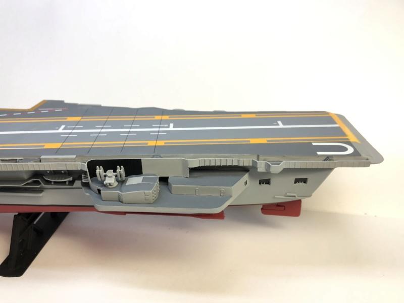 CLEMENCEAU 1987 Mission Prométhée 1/400 Heller + L'Arsenal + Scratch Img_2826