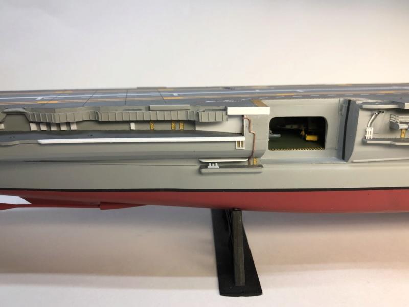 CLEMENCEAU 1987 Mission Prométhée 1/400 Heller + L'Arsenal + Scratch Img_2928