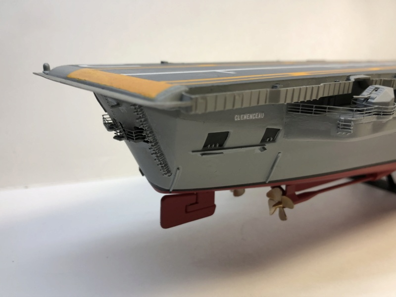 CLEMENCEAU 1987 Mission Prométhée 1/400 Heller + L'Arsenal + Scratch Img_3111