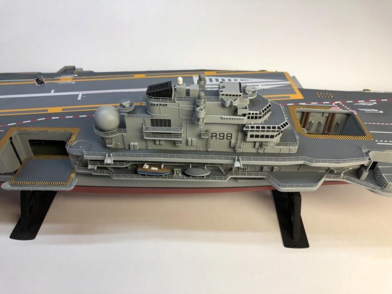 CLEMENCEAU 1987 Mission Prométhée 1/400 Heller + L'Arsenal + Scratch Img_3853