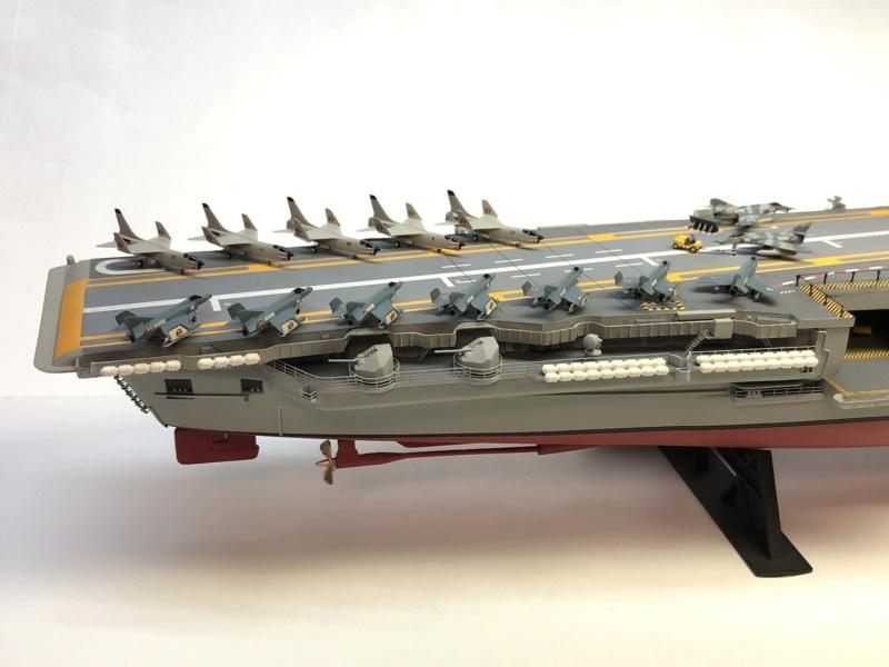 CLEMENCEAU 1987 Mission Prométhée 1/400 Heller + L'Arsenal + Scratch Img_5127