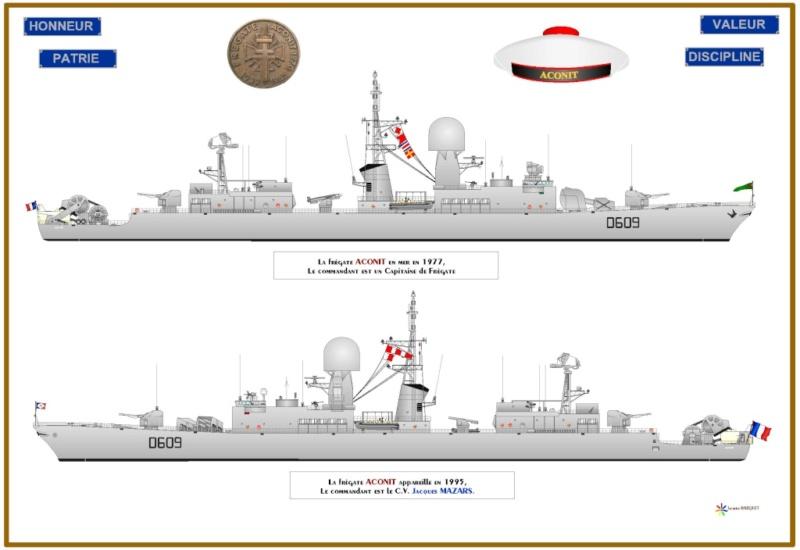 Frégate D609 ACONIT 1/400ème base HELLER + scratch Img_6710