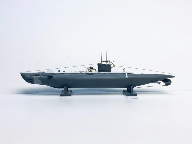 2 sous-marins FNFL le CURIE et la MORSE au 1/400 ème base Mirage + scratch Img_e386