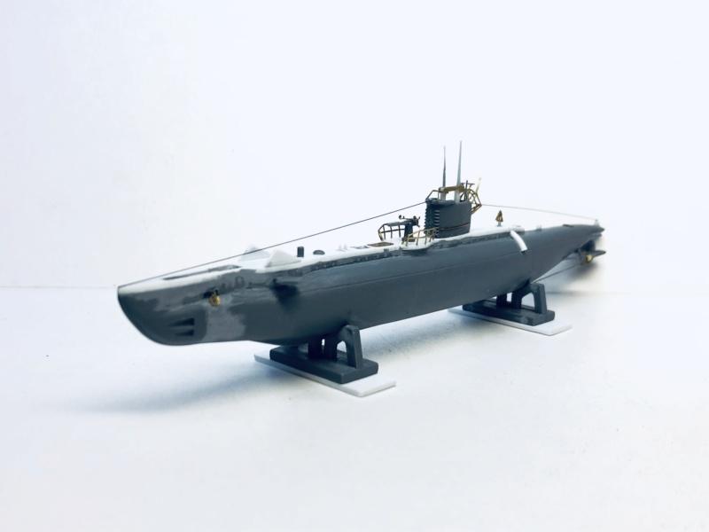 2 sous-marins FNFL le CURIE et la MORSE au 1/400 ème base Mirage + scratch Img_e389