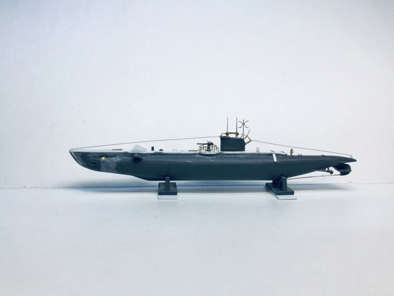 2 sous-marins FNFL le CURIE et la MORSE au 1/400 ème base Mirage + scratch Img_e391