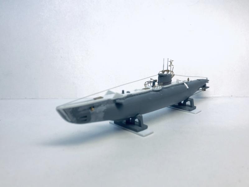 2 sous-marins FNFL le CURIE et la MORSE au 1/400 ème base Mirage + scratch Img_e393
