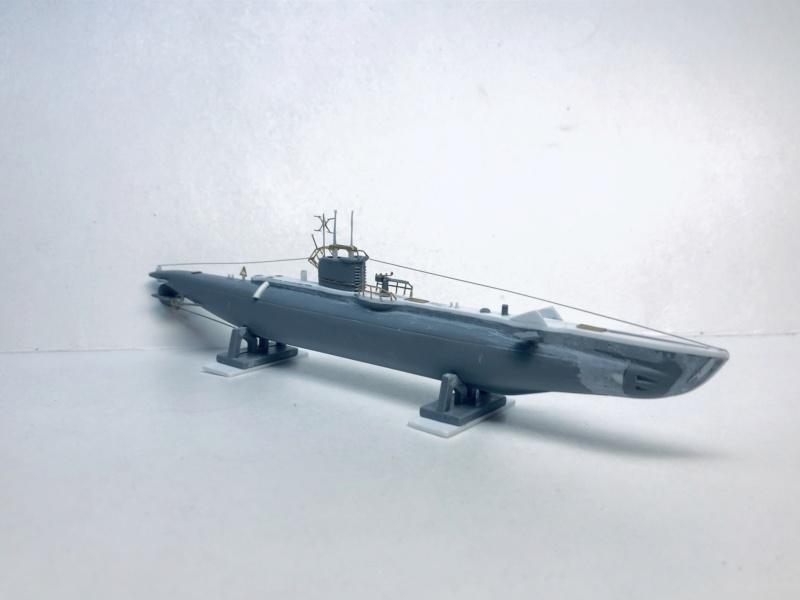 2 sous-marins FNFL le CURIE et la MORSE au 1/400 ème base Mirage + scratch Img_e394