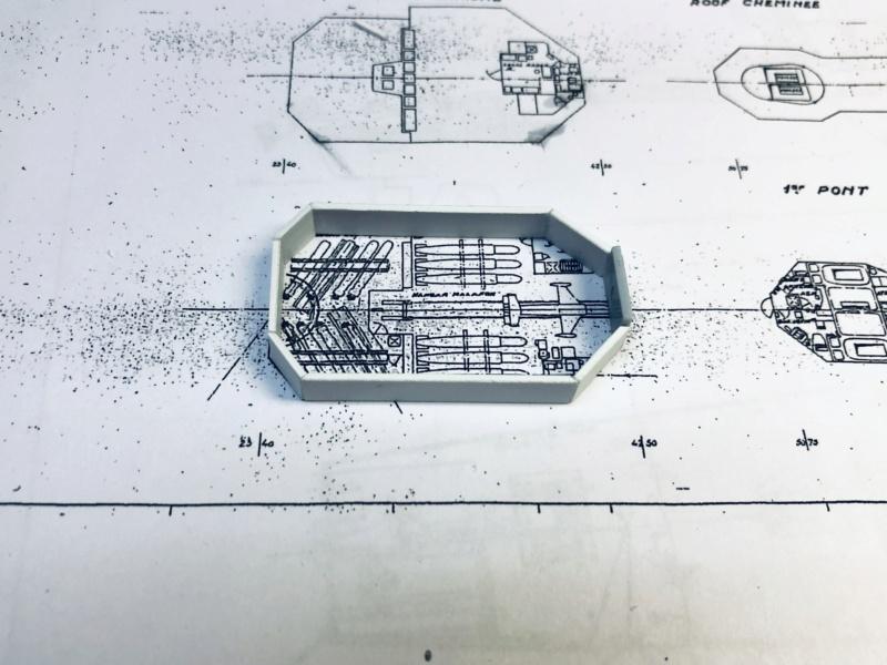 Frégate D609 ACONIT 1/400ème base HELLER + scratch Img_e719