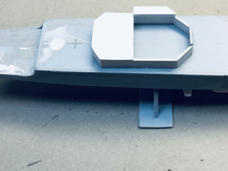 Frégate D609 ACONIT 1/400ème base HELLER + scratch Img_e720