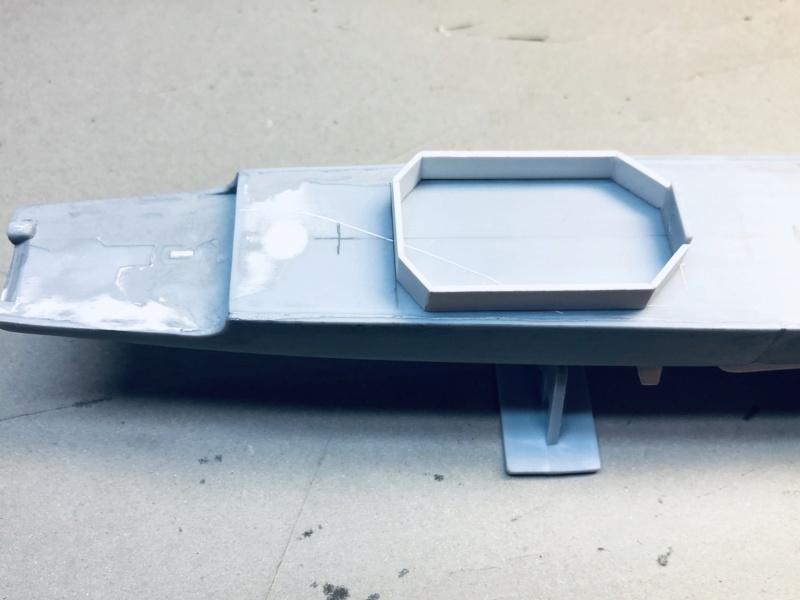 Frégate D609 ACONIT 1/400ème base HELLER + scratch Img_e721
