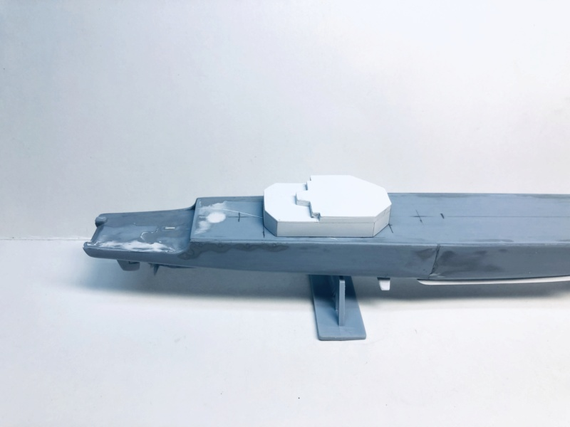 Frégate D609 ACONIT 1/400ème base HELLER + scratch Img_e722