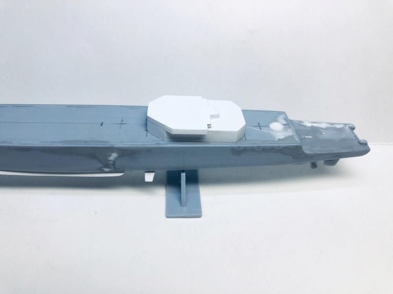 Frégate D609 ACONIT 1/400ème base HELLER + scratch Img_e723