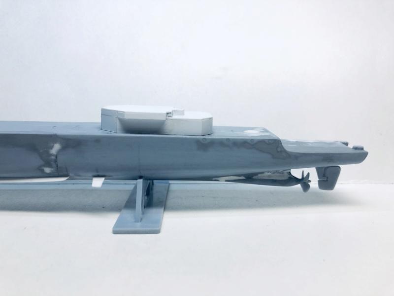 Frégate D609 ACONIT 1/400ème base HELLER + scratch Img_e724