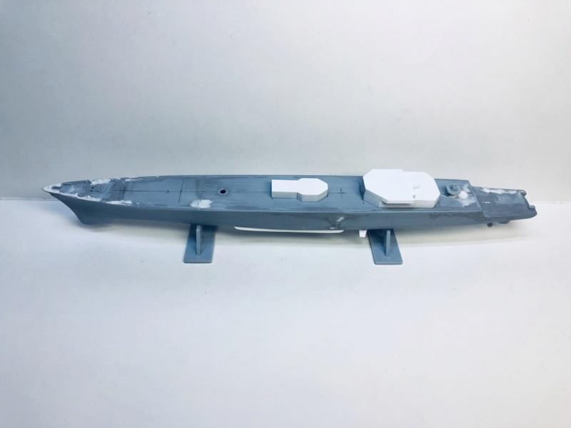 Frégate D609 ACONIT 1/400ème base HELLER + scratch Img_e726