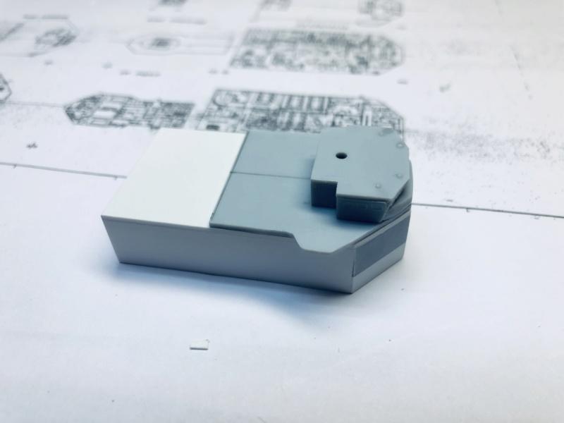 Frégate D609 ACONIT 1/400ème base HELLER + scratch Img_e732