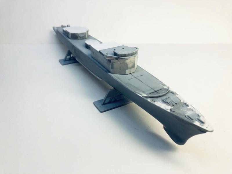 Frégate D609 ACONIT 1/400ème base HELLER + scratch Img_e738