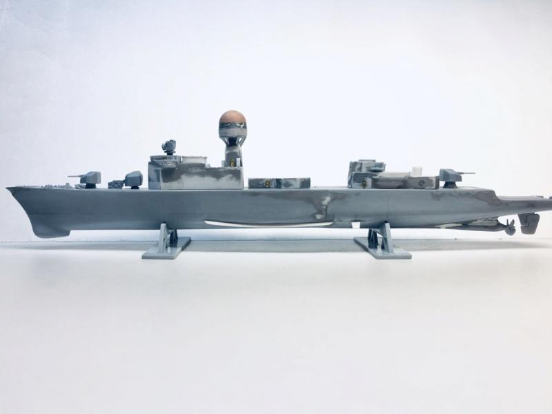 Frégate D609 ACONIT 1/400ème base HELLER + scratch Img_e751