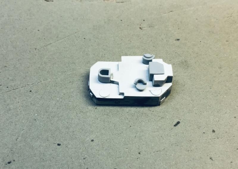 Frégate D609 ACONIT 1/400ème base HELLER + scratch Img_e765