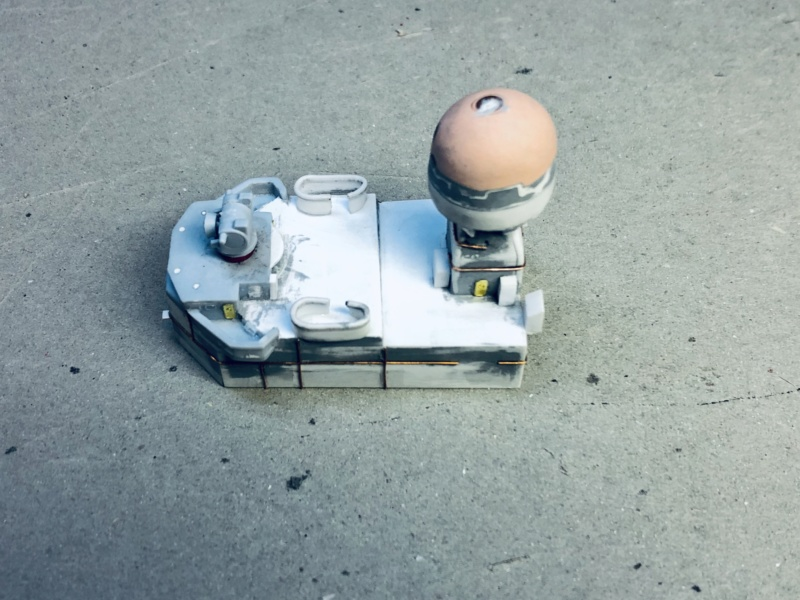 Frégate D609 ACONIT 1/400ème base HELLER + scratch Img_e766