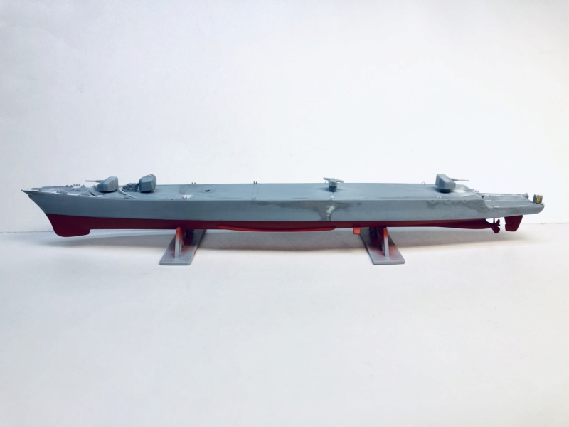 Frégate D609 ACONIT 1/400ème base HELLER + scratch Img_e770
