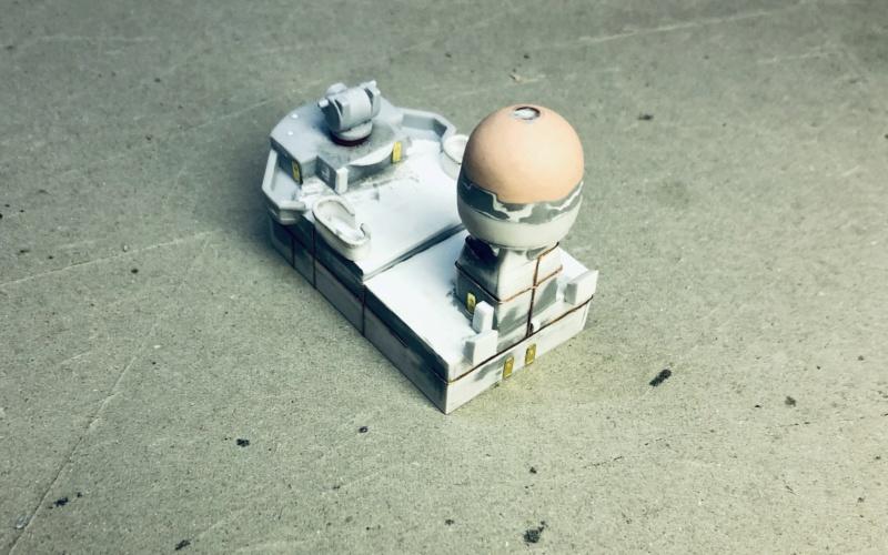 Frégate D609 ACONIT 1/400ème base HELLER + scratch Img_e771