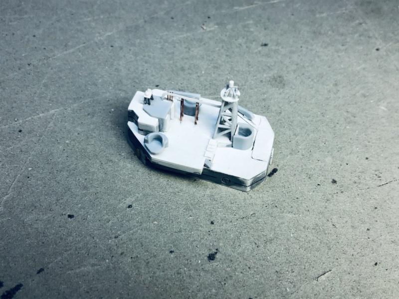 Frégate D609 ACONIT 1/400ème base HELLER + scratch Img_e772
