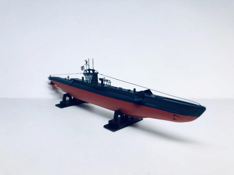 2 sous-marins FNFL le CURIE et la MORSE au 1/400 ème base Mirage + scratch Img_e814