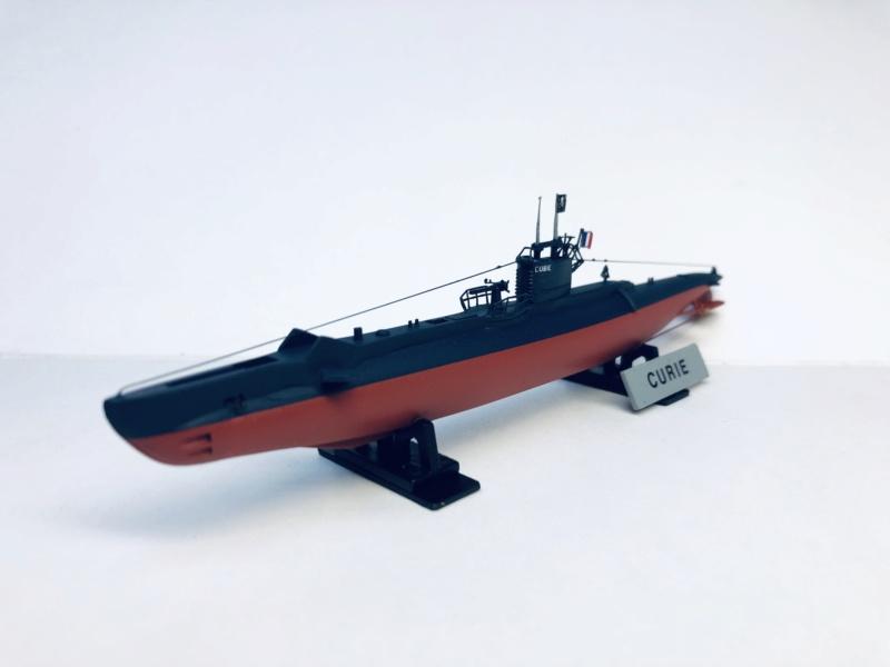 2 sous-marins FNFL le CURIE et la MORSE au 1/400 ème base Mirage + scratch Img_e817