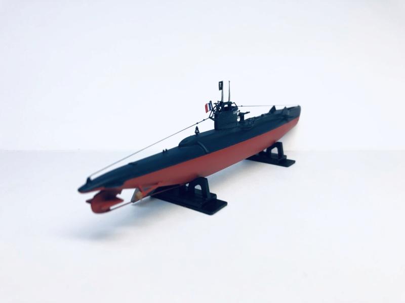 2 sous-marins FNFL le CURIE et la MORSE au 1/400 ème base Mirage + scratch Img_e819