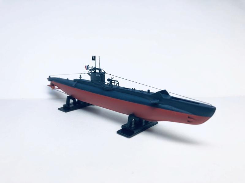 2 sous-marins FNFL le CURIE et la MORSE au 1/400 ème base Mirage + scratch Img_e820