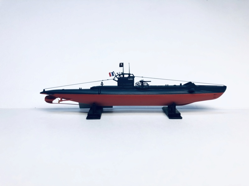 2 sous-marins FNFL le CURIE et la MORSE au 1/400 ème base Mirage + scratch Img_e821