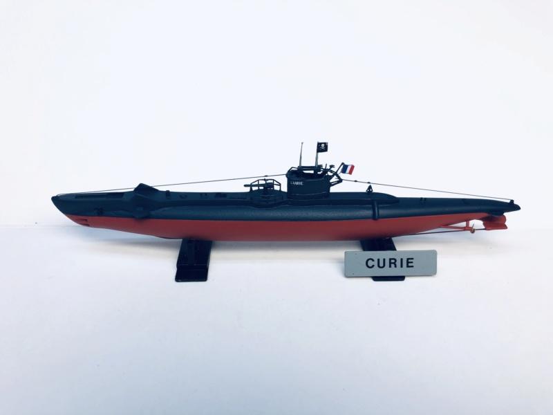 2 sous-marins FNFL le CURIE et la MORSE au 1/400 ème base Mirage + scratch Img_e823